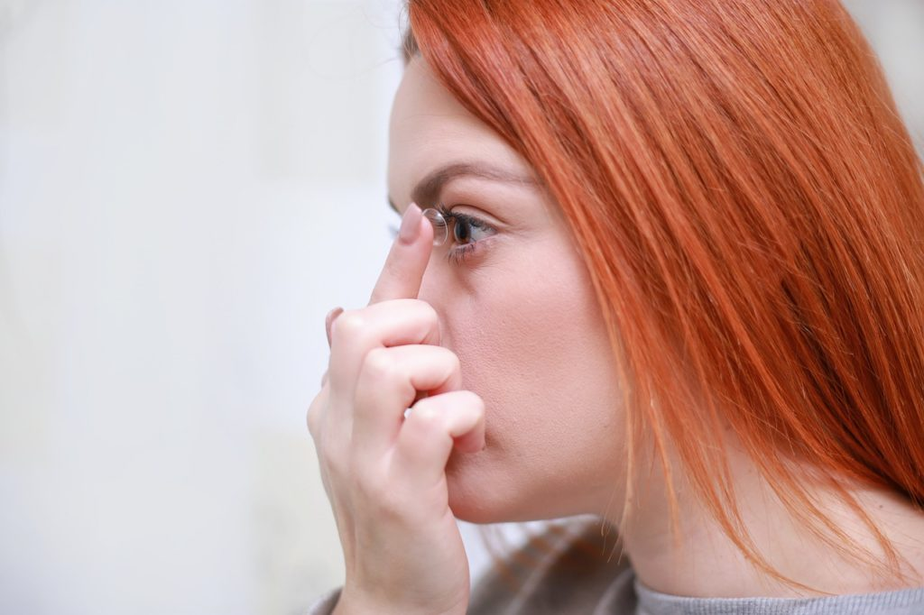 kontaktne leće koronavirus
